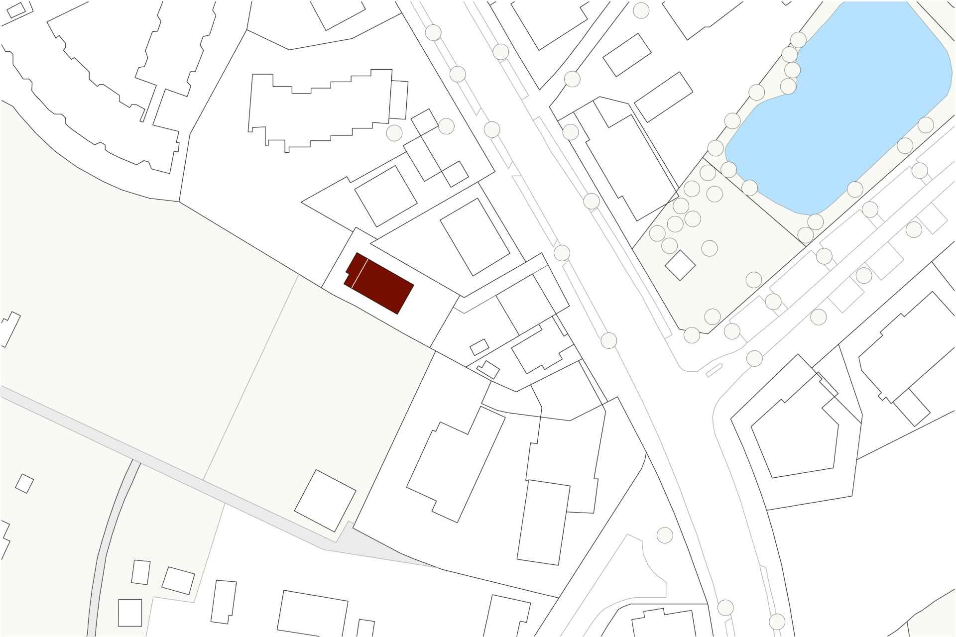 LCH (Wohnbauten) Erste Lage in zweiter Reihe