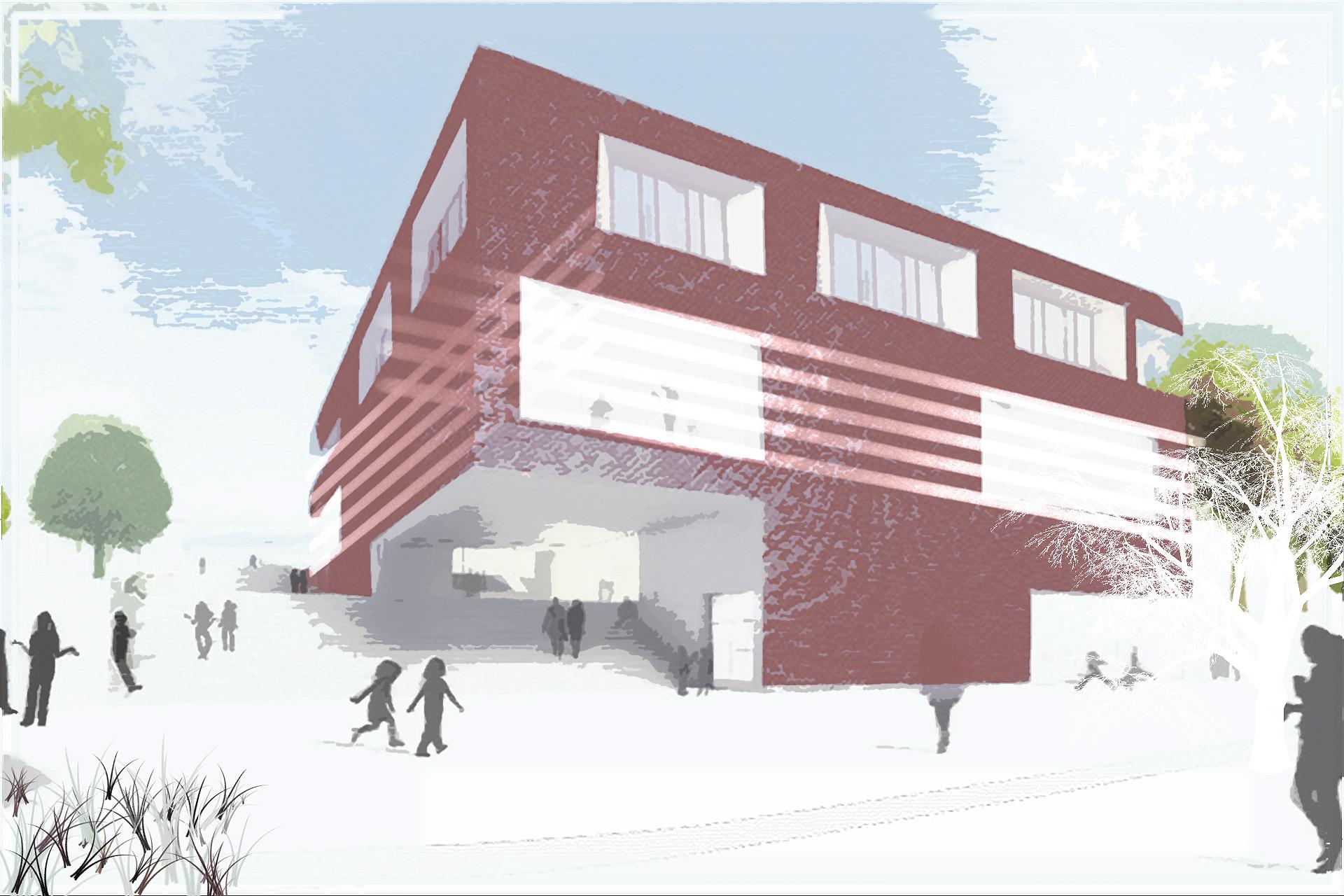 SPA (Wettbewerbe und Entwürfe + Sozial- und Sonderbauten) Aus Zwei wird Eins