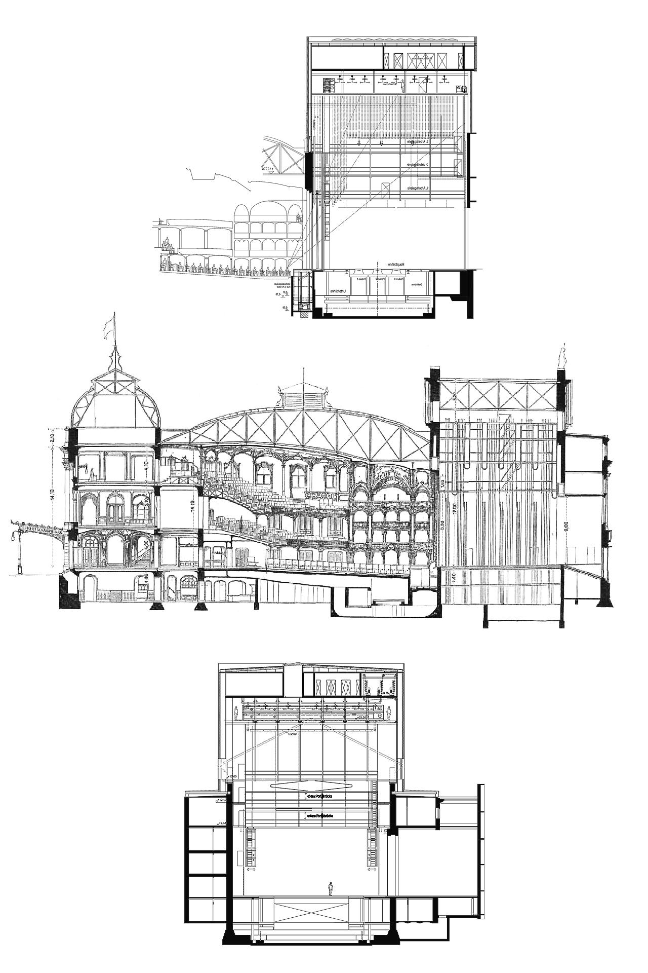 SSH (Wettbewerbe und Entwürfe + Umbau und Sanierung) Deutsches Schauspielhaus Hamburg