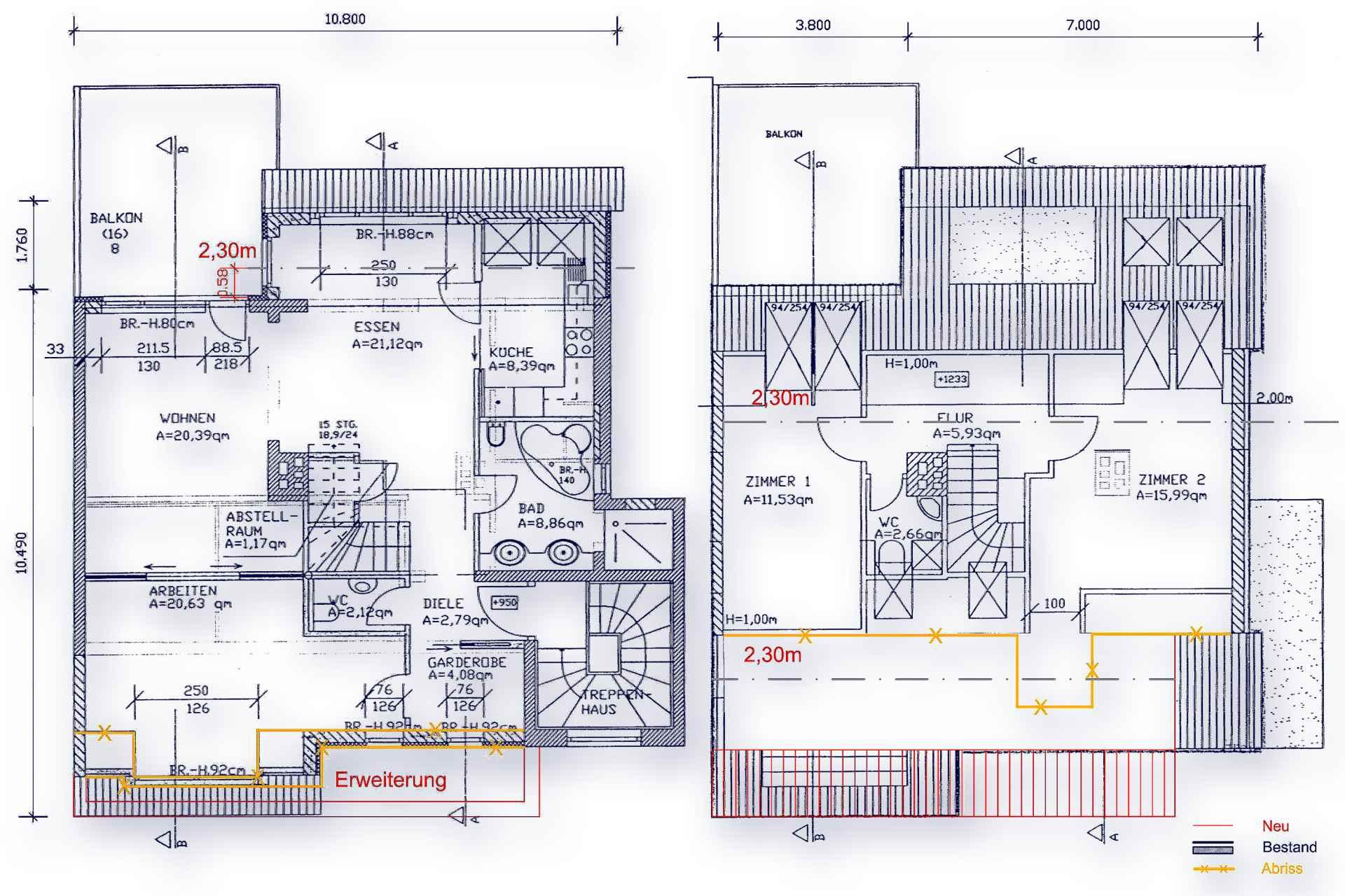 WED (Wohnbauten + Umbau und Sanierung) Wohnen am Mittelweg