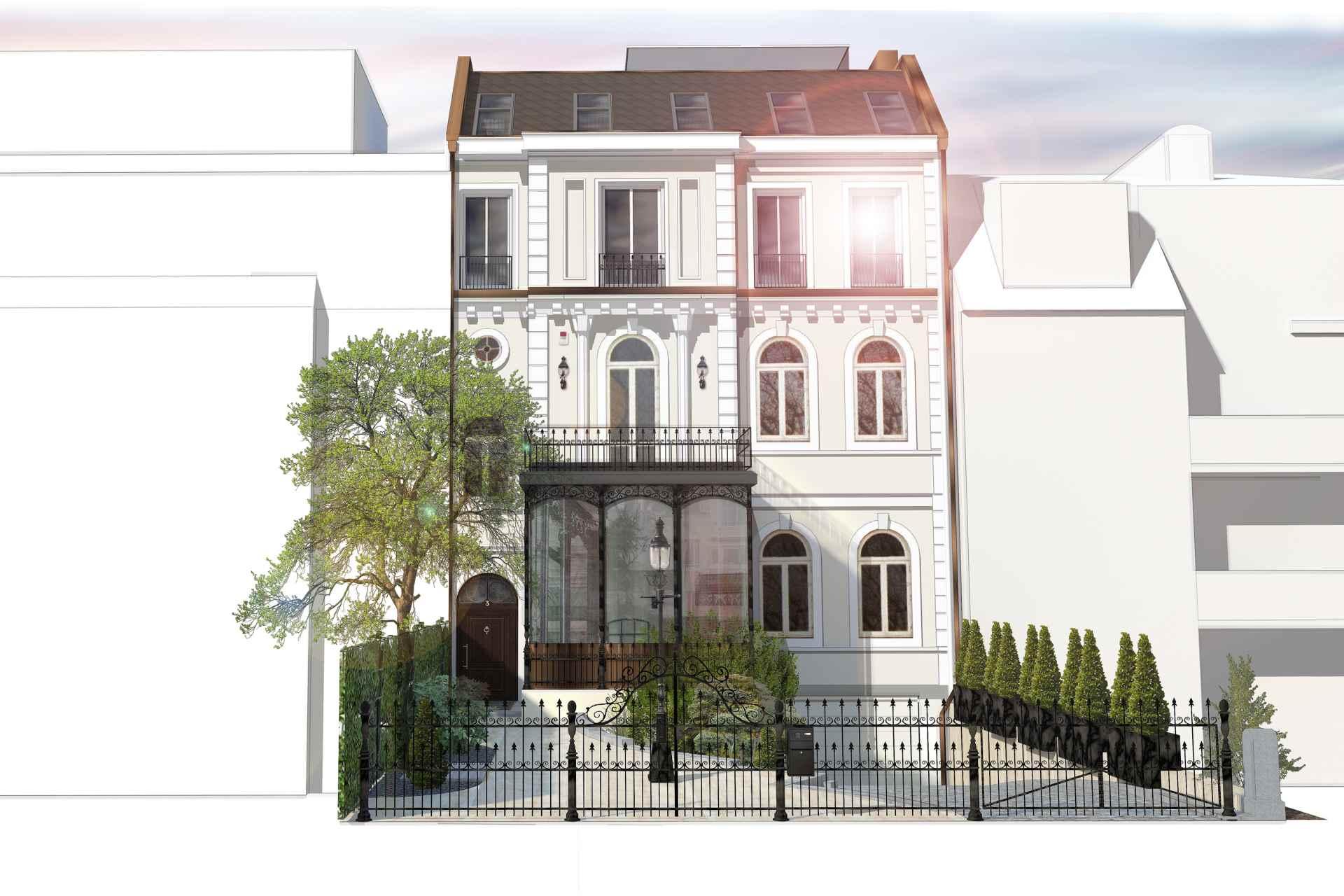 BAR (Wohnbauten + Umbau und Sanierung) Stadtvilla anno 1870