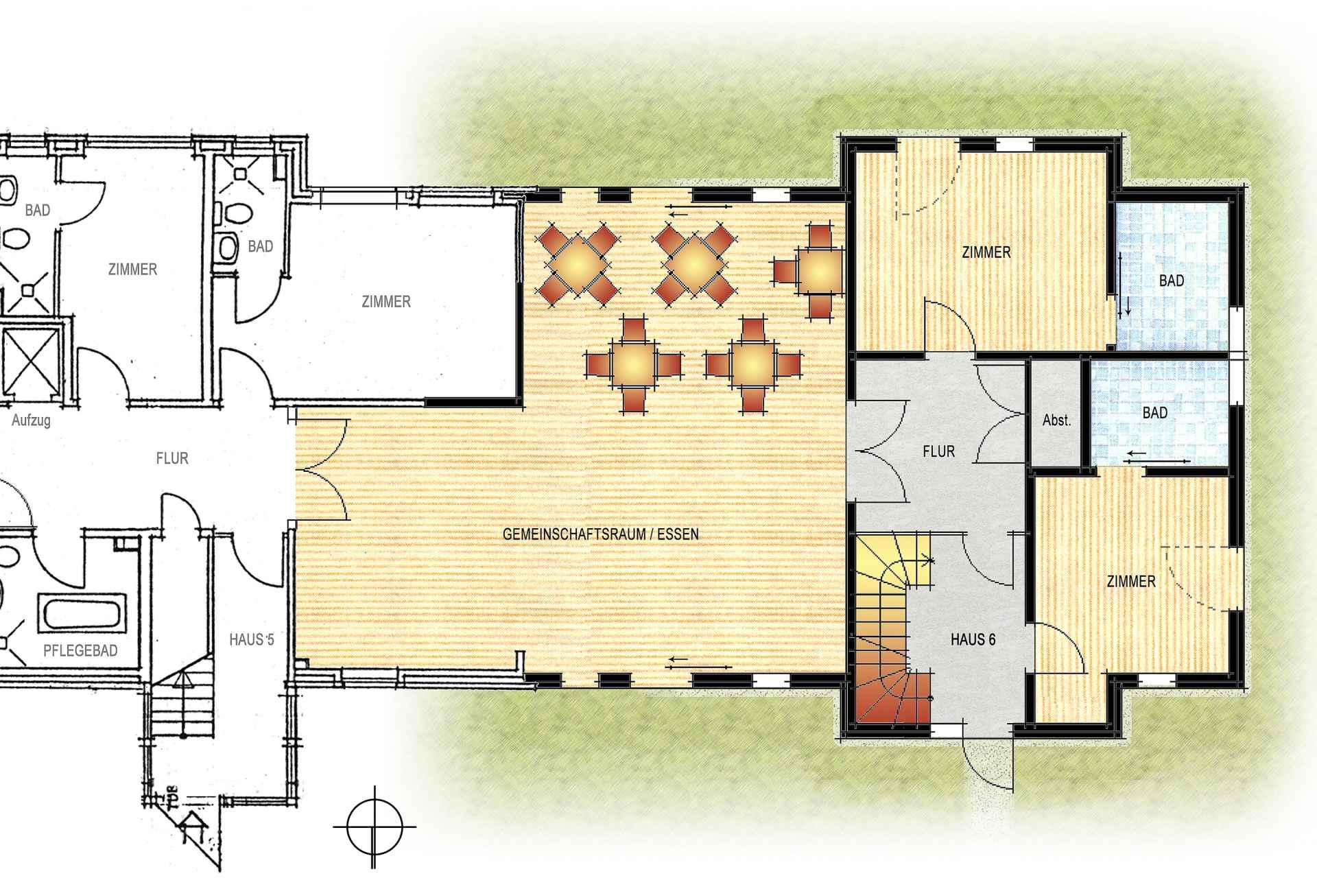 KHD (Sozial- und Sonderbauten + Umbau und Sanierung) Umbau Seniorenwohnpark