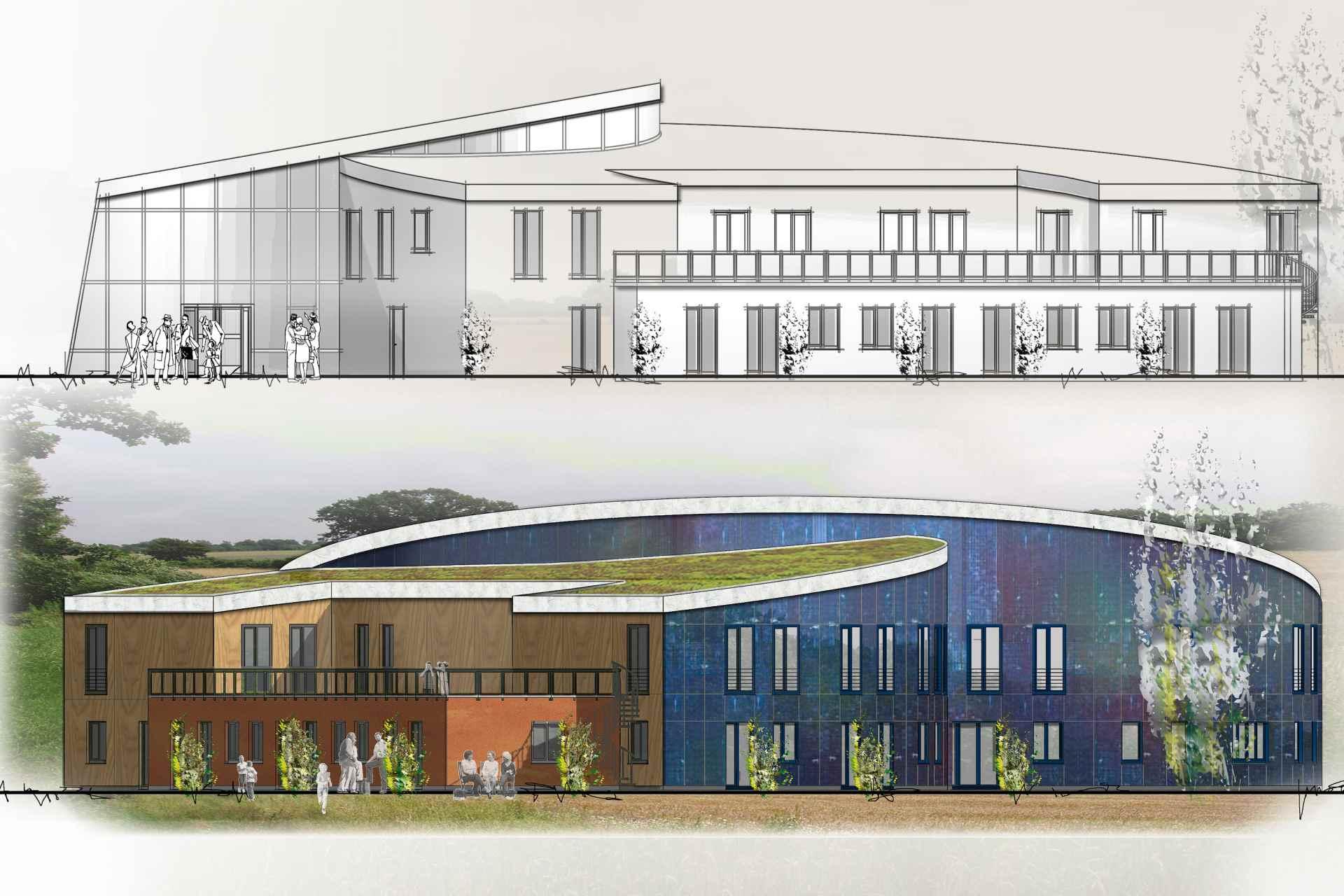 SCH (Sozial- und Sonderbauten + Wettbewerbe und Entwürfe) Hospiz