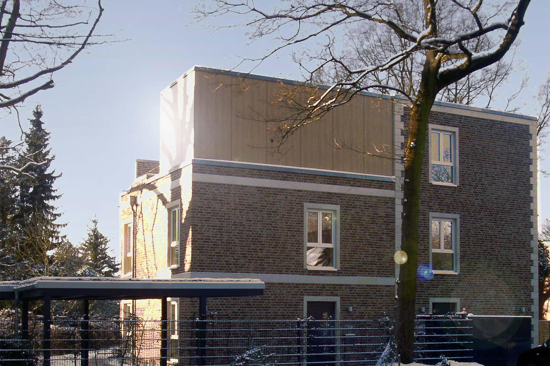 HWG (Wohnbauten) Exklusives Mehrfamilienhaus im englischen Stil